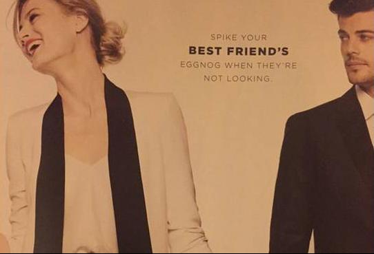 Bloomingdale's Advert Via Twitter