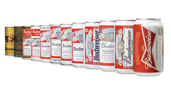 Budweiser Brand Evolution