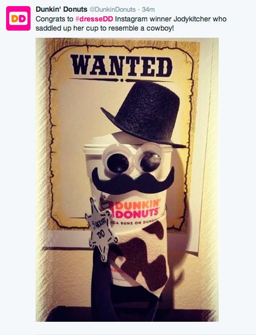 Dunkin'donuts Halloween Disguises