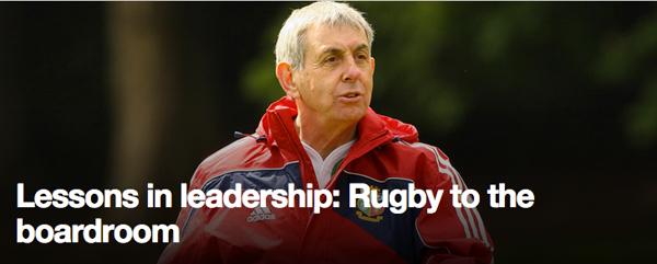 Ey Sir Ian Mc Geechan Rugby World Cup 2015 Leadership