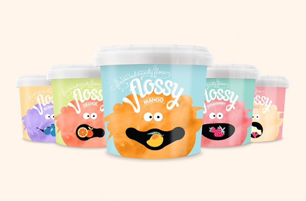 Flossy Flavoured Candy Floss