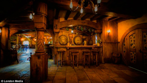 Green Dragon Pub Hobbiton Nz