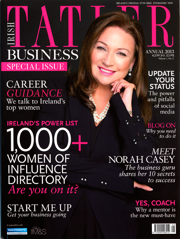 Irish Tatler 2012 Annual Cover