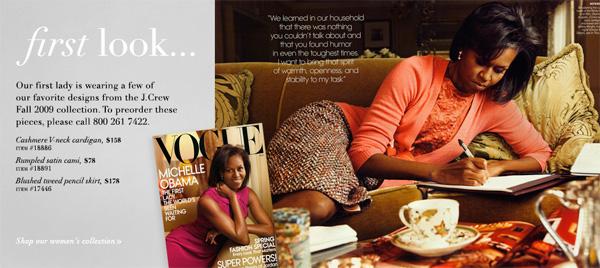 J Crew Michelle Obama