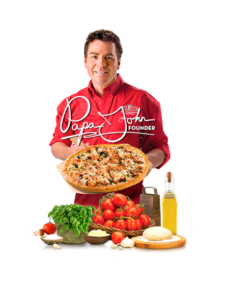 John Schnatter Papa Johns Pizza