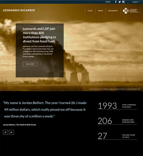 Leonardo Di Caprio Against Fossil Fuels 600px