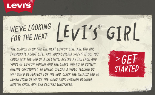 Levi's Girl Job Ad