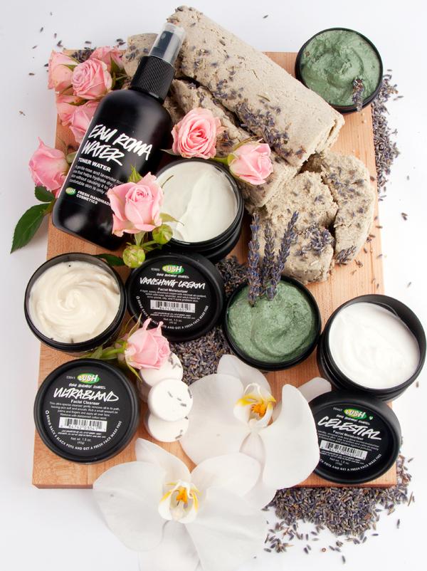 Lush Organic Skincare 600px