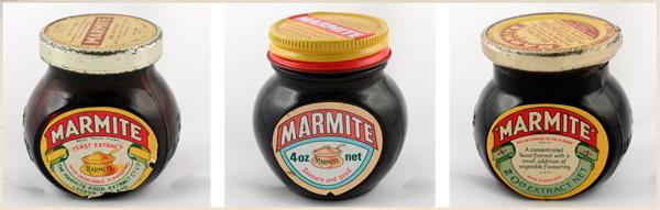 Marmite History Jars 600px