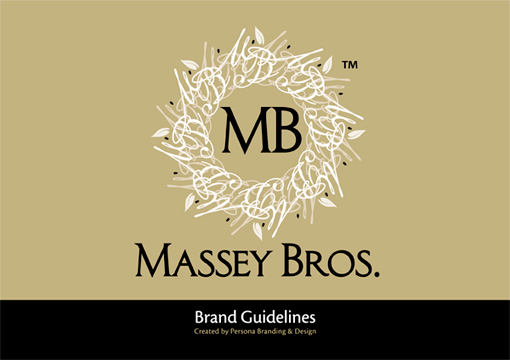 Massey Bros Brand Guidelines Cover
