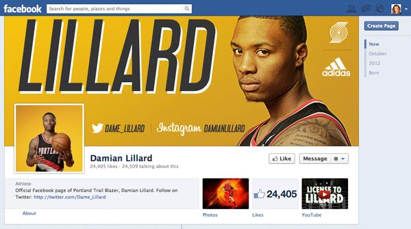 Nba Damian Lillard Fb