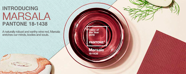 Pantone Color Of The Year Marsala 2015