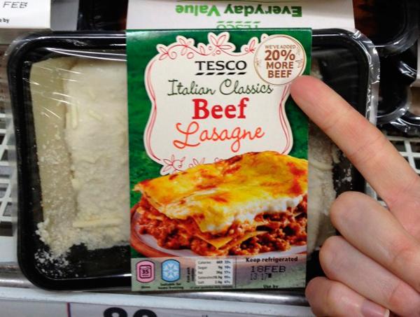 Tesc Beef Lasagne 20