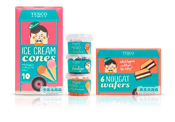 Tesco Ice Cream