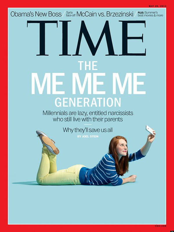 Time The Me Me Me Generation