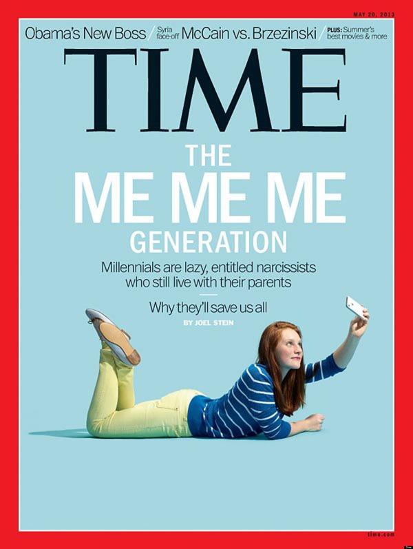 Time The Me Me Me Generation