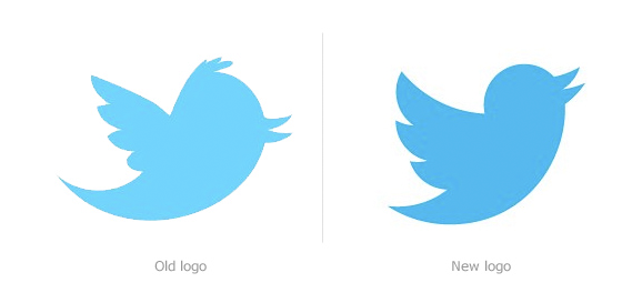 Twitter Logo Old New