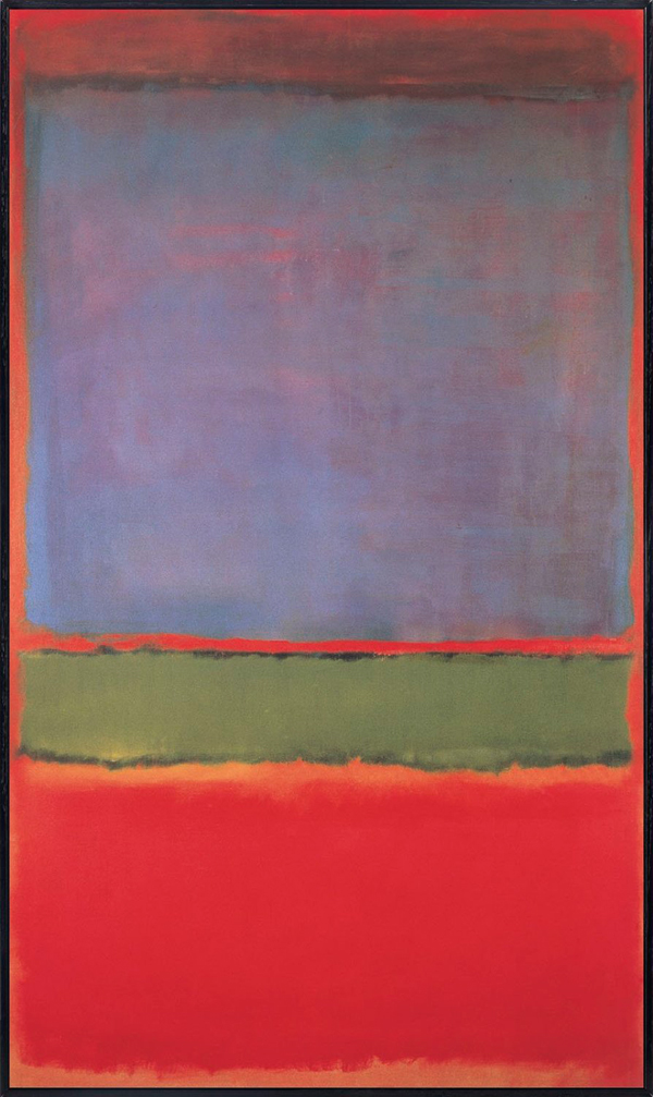 Violet Green And Red By Mark Rothko