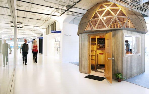 Airbnb Conference Room Mushroom Cabin In Aptos California