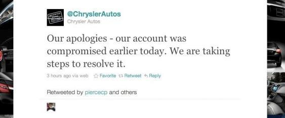 Chrylserautos Twitter