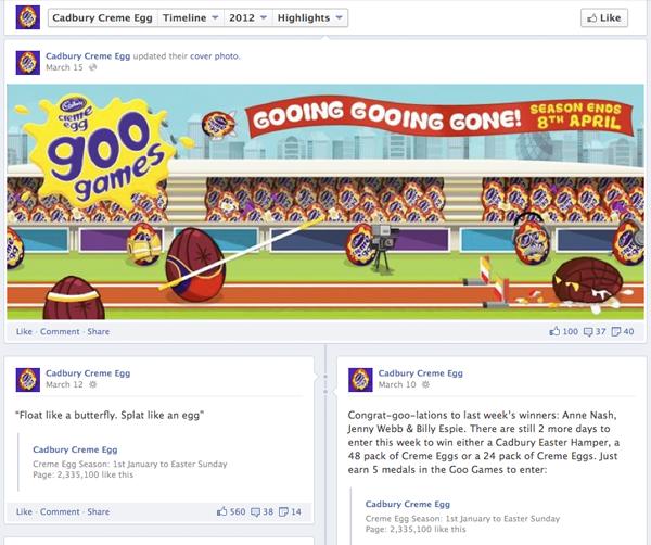 Creme Egg Facebook