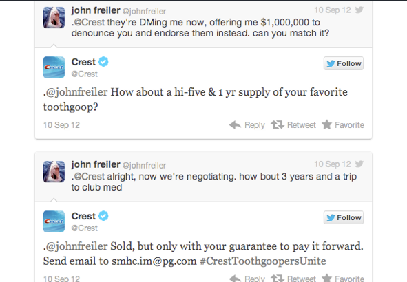 Crest Toothpaste On Twitter