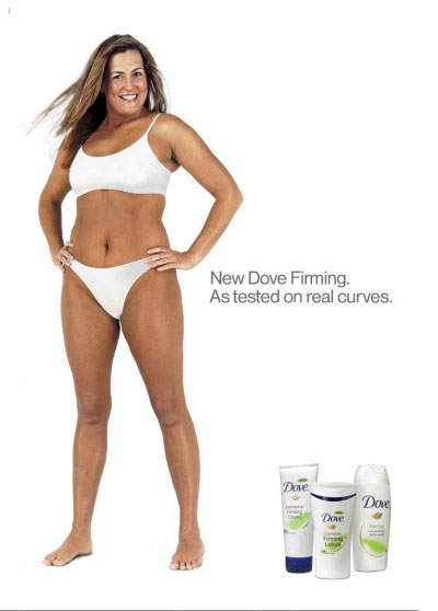 Dove Real Woman Curves