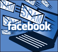 Facebook Spam Virus Hacked