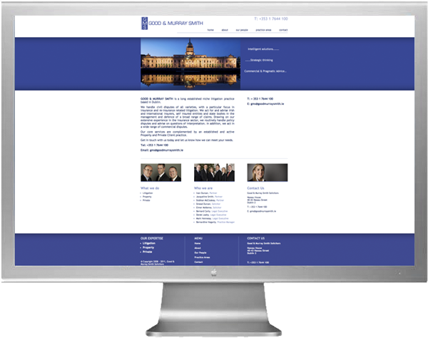 Goodmurraysmith Website