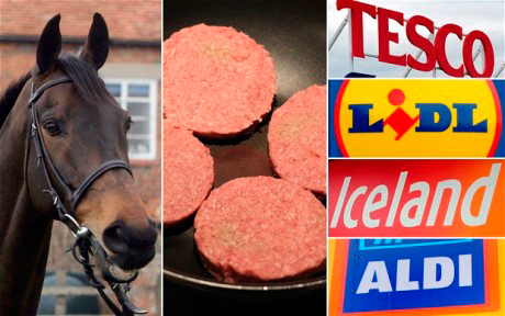Horse Meat Burgers