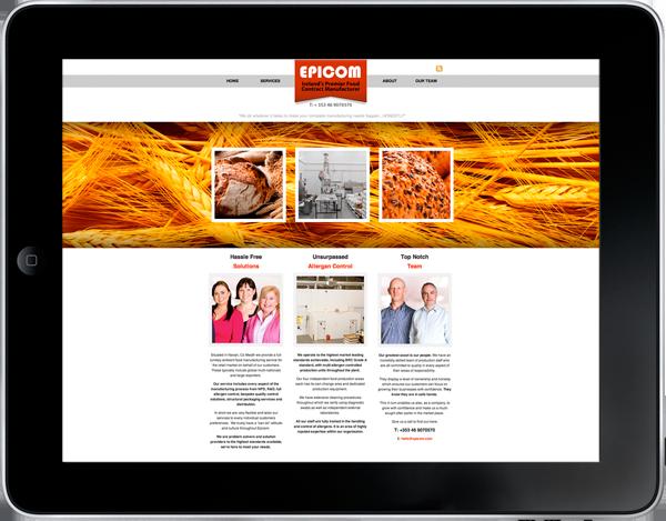 Ipad Epicom Website Wheat