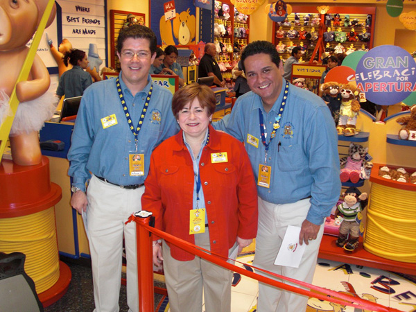 Maxine Clark And Staff