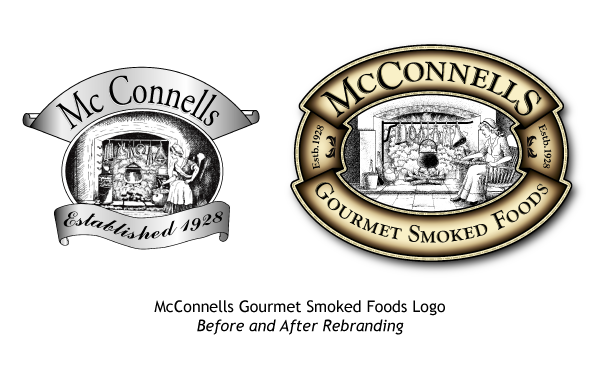 Mcconnells Old And New Logo