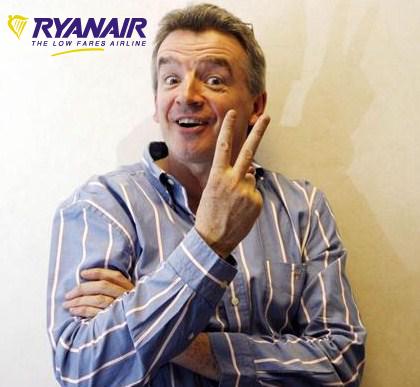 Michael O Leary Ryanair