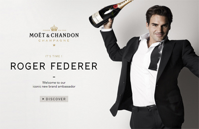 Moet Roger Federer Web Site