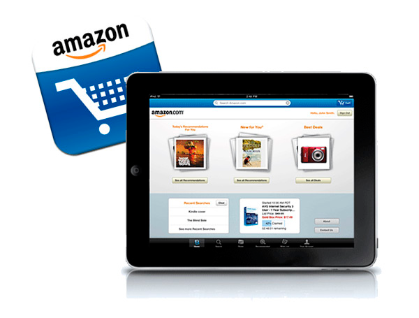 New Amazon Ipad App