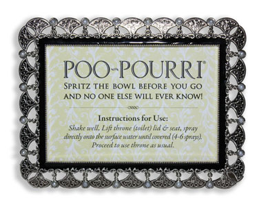 Poo Pourri Sign