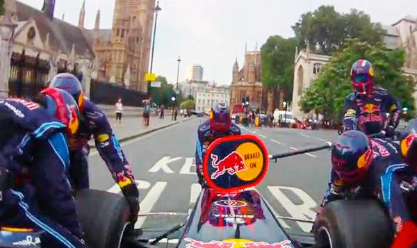 Redbull F1 London