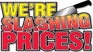 Slashing Prices