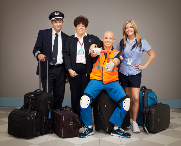 Southwest Airline Staff