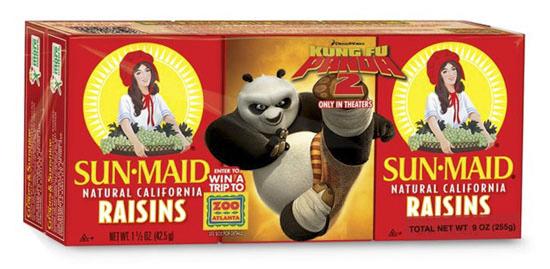 Sunmaid Panda