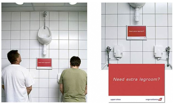 Virgin Urinal Ad