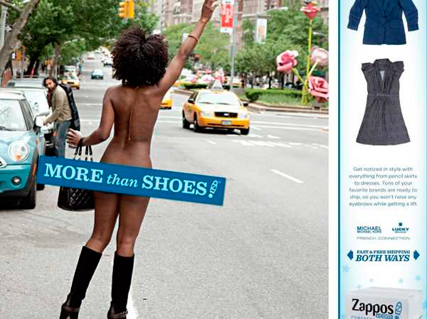 Zappos Advert