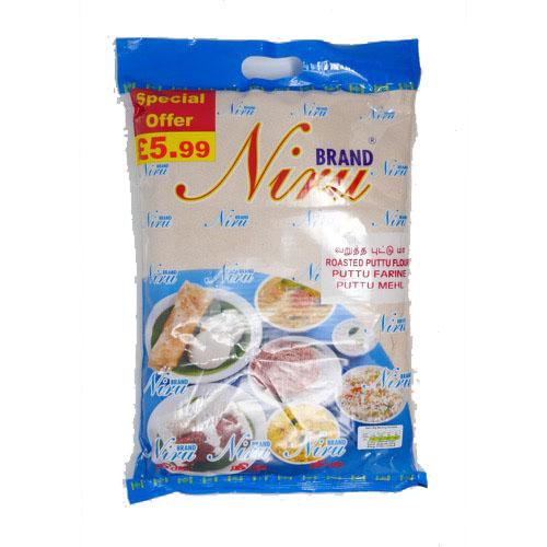 Niru Roasted Puttu Flour 3.6kg - £5.99