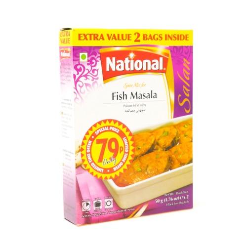 National Fish Masala 50g - £0.79