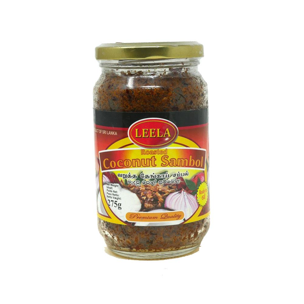 Leela Coconut Sambol Veg 275g - £2.99