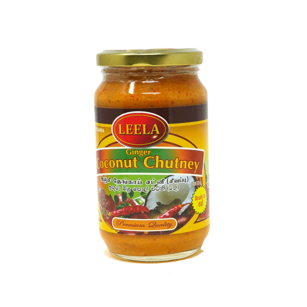 Leela Ginger Coconut Chutney 350g - £1.99