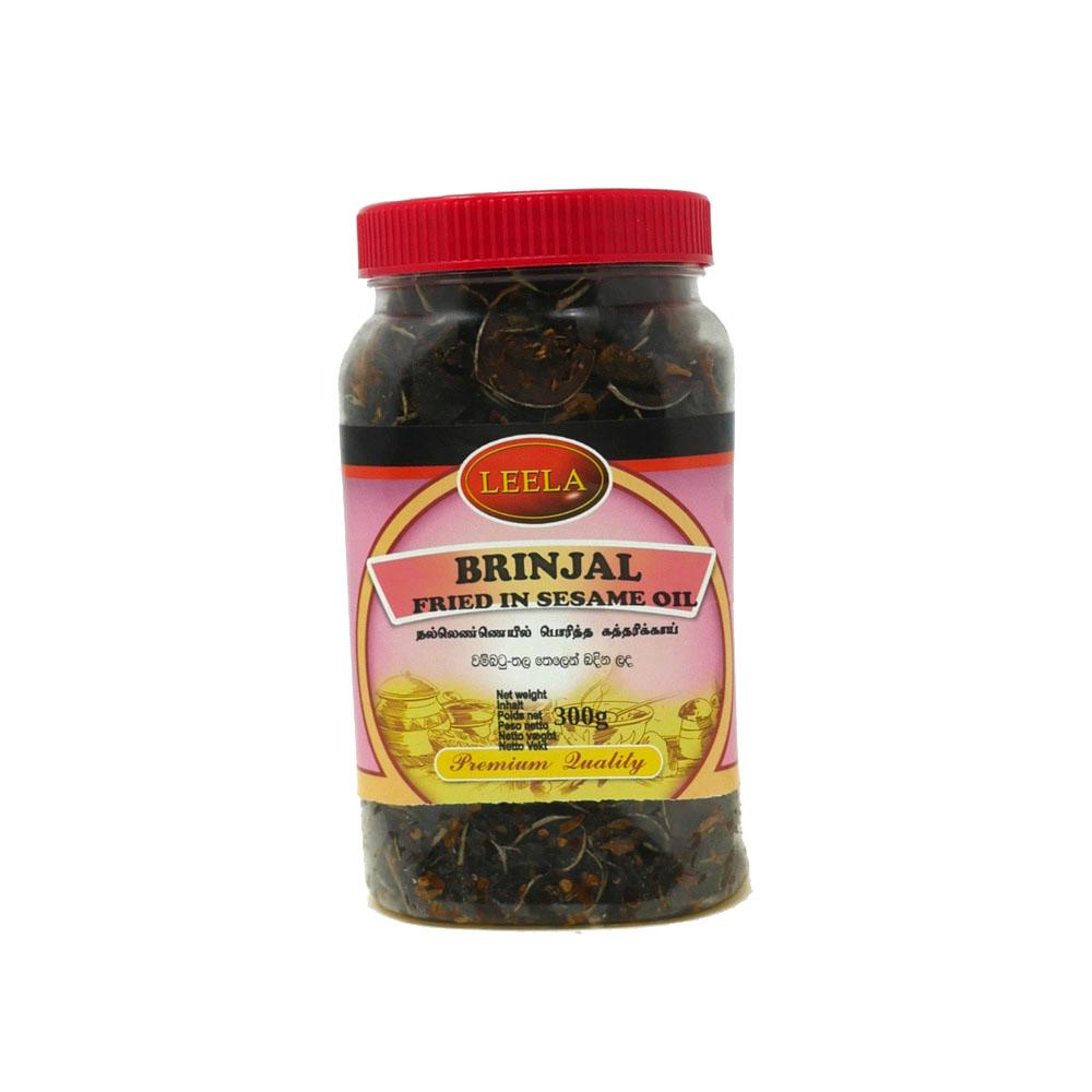 Leela Brinjal Fried Sesame Oil