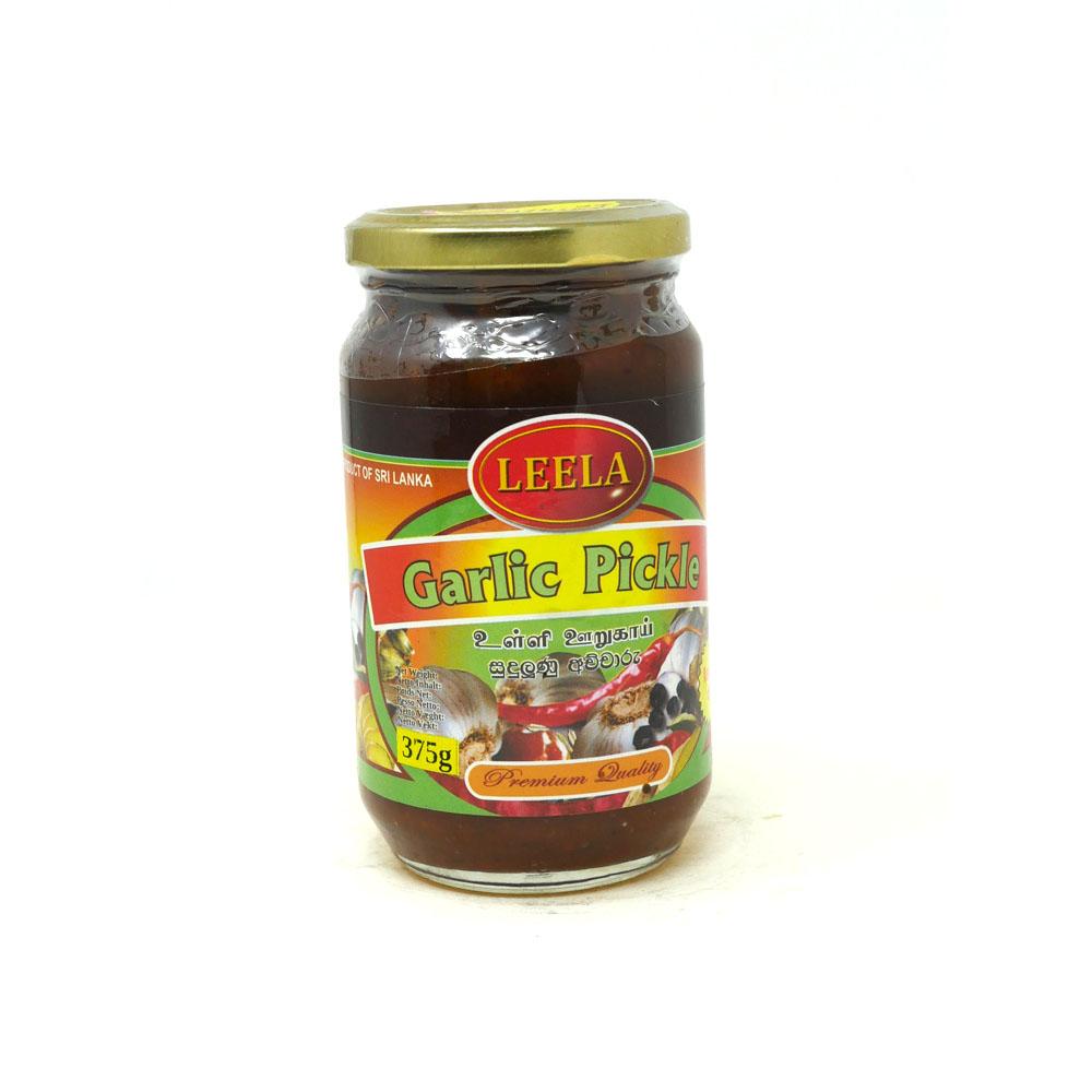 Leela Garlic Pickle 375g - £2.49