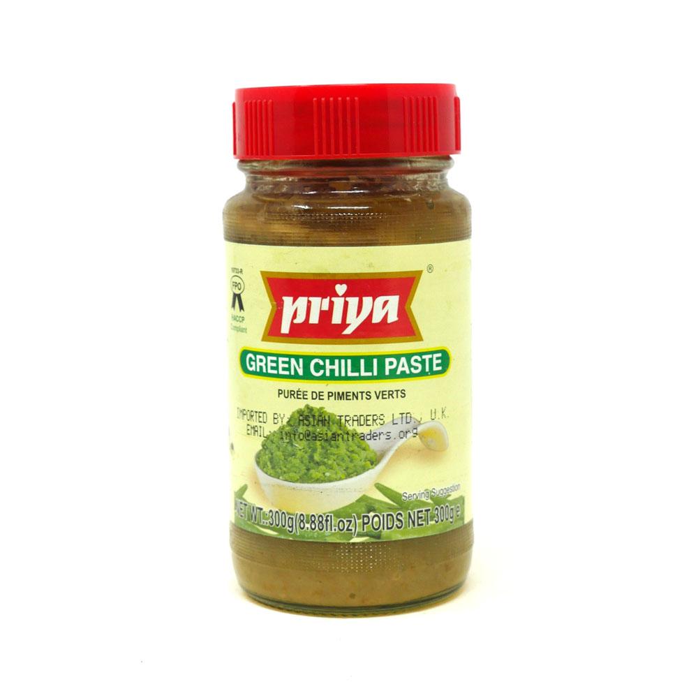 Priya Green Chilli Paste 300g - £1.49